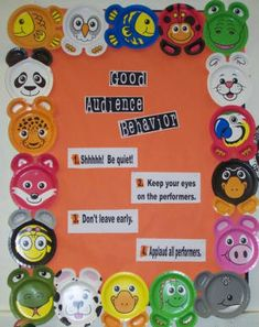 Music: Bulletin Boards for the Music Classroom Creative Bulletin Boards, Class Bulletin Boards, Bulletin Board Borders, Music Classroom, Classroom Activities, Classroom Organization, Forest Classroom, Preschool Bulletin, Music Activities