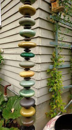 In unserem Land regnet es oft! Mit diesen coolen Regenfänger machen Sie Ihren Garten komplett! - DIY Bastelideen