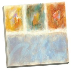 Luminosity 32 Painting Print on Wrapped Canvas