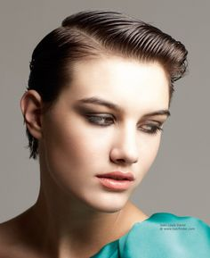 Wet Look #hbckappers #trendy #wet #look #hair