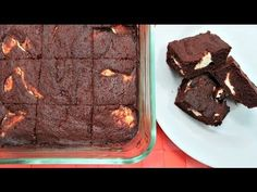 Chocolate Cheesecake Keto Brownies - Easy Low Carb Recipe + Video
