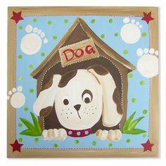 kinderwebwinkel: Schilderijen-GeK-design-Schilderij Hond