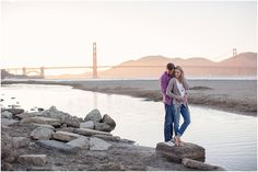 San Francisco Golden Gate Bridge Engagement Session   Laura Hernandez Photography