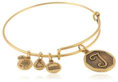 "Alex and Ani Russian Gold Initial ""T"" Expandable Wire Bangle Bracelet, 7.25"" Alex and Ani,http://www.amazon.com/dp/B00CUAJQT4/ref=cm_sw_r_pi_dp_jxKYsb119ZJXTJK9"