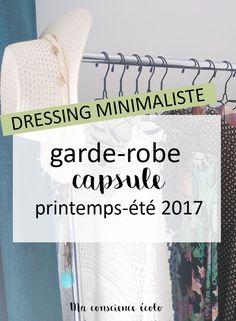 Quelles sont les 44 pièces de ma garde-robe minimaliste printemps-été 2017 ?