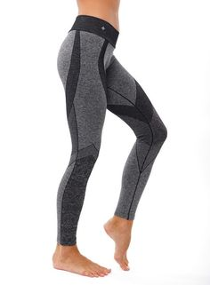 These moderate compression leggings are amazing with their seamless design and jacquard patterns. So much fun and so functional. Wear to yoga, workout or anywhere! London Legging by NUX. Clothing - Activewear Hudson Valley, New York Sports Leggings, Printed Leggings, Workout Leggings, Leggings Sale, Cheap Leggings, Yoga Leggings, Workout Pants, Gray Leggings, Jeggings