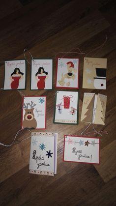 Oma tekemiä kortteja Gift Wrapping, Gifts, Gift Wrapping Paper, Presents, Wrapping Gifts, Favors, Gift Packaging, Gift