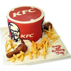 KFC What no Chicken? Don't panic, The Cake Store can make your KFC from cake