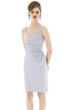 Shop Alfred Sung Bridesmaid Dress - D642 in Dupioni at Weddington Way. Find the perfect made-to-order bridesmaid dresses for your bridal party in your favorite color, style and fabric at Weddington Way.