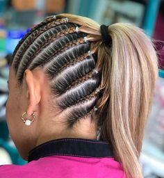 Lil Girl Hairstyles, Cool Braid Hairstyles, Baddie Hairstyles, Twist Hairstyles, Curly Hair Styles, Natural Hair Styles, Hair Upstyles, Braids For Short Hair, Hair Highlights