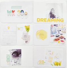 Project Life Album, Hello Sunshine, Projects, Log Projects, Blue Prints