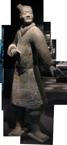 archer collage from Terracotta Warriors