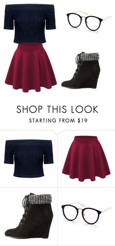 """""""outfit"""" by hjeanb on Polyvore featuring 3x1 and Charlotte Russe"""