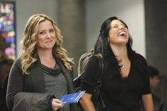 Pin for Later: 28 Ways TV Shows Bared or Covered Pregnant Bellies Jessica Capshaw Greys Anatomy Callie, Greys Anatomy Frases, Greys Anatomy Couples, Greys Anatomy Season, Greys Anatomy Characters, Greys Anatomy Cast, Grey Anatomy Quotes, Jessica Capshaw, Calliope Torres