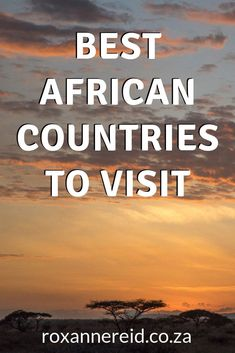 Africa has it all - adventure activities, safaris, deserts, rivers and snow-capped peaks. Discover 27 of the best African countries to visit for travel adventure. Africa Travel, Ethiopia Travel, Kenya Travel, Morocco Travel, Tanzania Safari, Wildlife Safari, Countries To Visit, Kruger National Park, Adventure Activities
