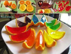 Jello in orange