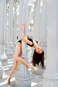 Photo by Ballet Zaida. Taken in Los Angeles California. Urban Light Installation by Chris Burden at LACMA photography Ballet Zaida