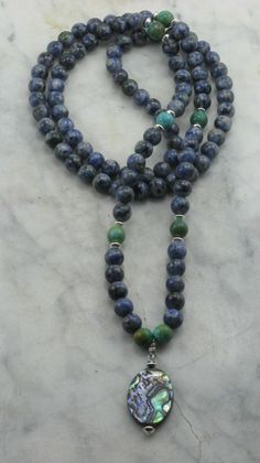 Shanti_Mala_Necklace_108_Lapis_Mala_Beads_Buddhist_Prayer_Beads