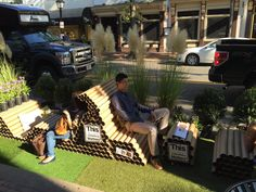 LandDesign DC using SYNLawn for their Park(ing) day event!
