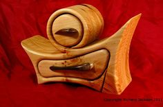 Shavings - Knot your average jewelry box $295.66 Materials: eastern pine, poplar, linseed oil, varnish, flocking
