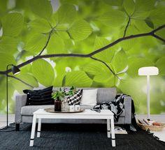 Wall mural R11181 Leaves