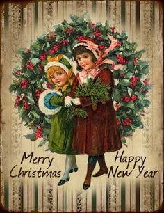 JanetK.Design Free digital vintage stuff: Christmas