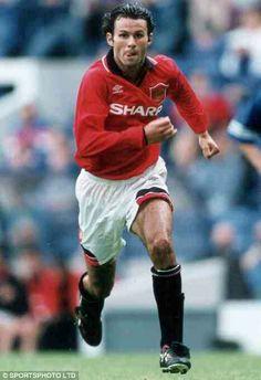 Ryan Giggs of Man Utd in 1994.