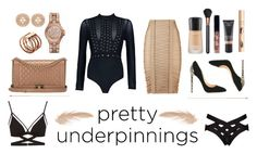 """Style Me"" by tishanaaa on Polyvore featuring Agent Provocateur, Cosabella, Balmain, Boohoo, Chanel, Cerasella Milano, MAC Cosmetics, MICHAEL Michael Kors, Michael Kors and Too Faced Cosmetics"