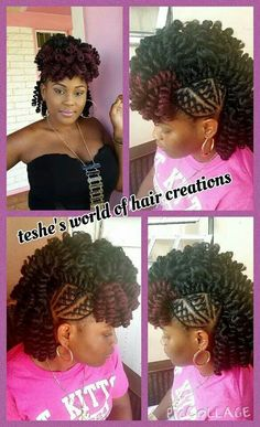 1000+ images about Hairstyles on Pinterest Flat twist, Tree braids ...