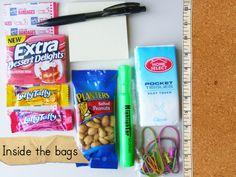 PTA survivial bags