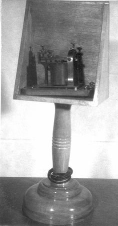 While this TELEGRAPH sounder looks bland, but it is actually the father of the Telephone! #FromSciTechMuseum