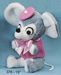 Dressed Mouse | Mary Meyer Vintage