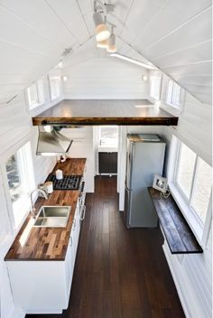 Luxury Mint Tiny Home 008