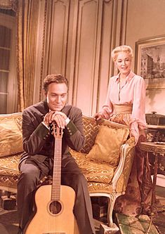 The Sound of Music (1965) - Christopher Plummer, Eleanor Parker...adore this top and skirt
