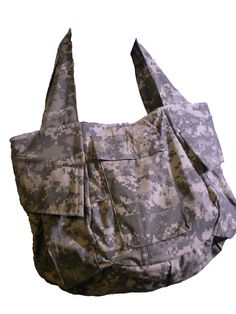 """The """"Army Wife"""" Bag.- my daughter used to custom make these for all services"""