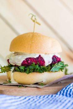 ... about Beet Burger on Pinterest | Burgers, Veggie Burgers and Beets