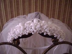 Princess Kate Style Tiara Communion by GlitterladyBridals on Etsy, $37.00