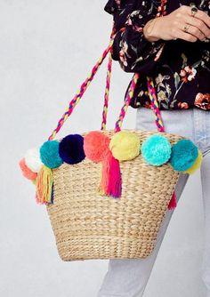 Pom Pom bag #swoonboutique
