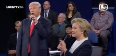 The Donald Trump and Hillary Clinton video you're going to be watching for the next few days     - CNET  Technically Incorrect offers a slightly twisted take on the tech thats taken over our lives.  Enlarge Image  Theyre singing. Really. Theyre singing.                                             ReChemical/YouTube screenshot by Chris Matyszczyk/CNET                                          Where there was no love lost love can suddenly be found.  Where there was so much darkness light can…