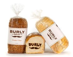 Burly Bread on Behance