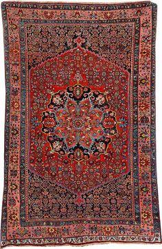 Bijar, Northwest Persia, circa 1900, wool/wool, approx. 210 x 134 cm