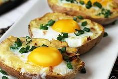 Baked Potato, Ale, Potatoes, Eggs, Baking, Breakfast, Ethnic Recipes, Health, Patisserie