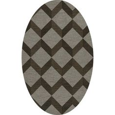 Dalyn Rug Co. Bella Brown/Gray Area Rug Rug Size: Oval 3' x 5'
