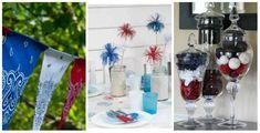 17 décorations de fête DIY aux couleurs du drapeau de la France