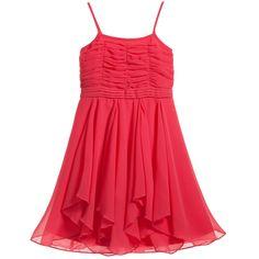 b7b35ec64 16 Best Coral Peach Flower Girl Bridesmaid Dresses images