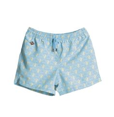 Beehave Nikben Swim Shorts Light Blue