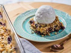 Berry Crisp Dump Cake Recipe   Katie Lee   Food Network
