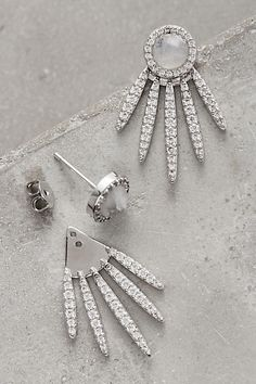 This gorgeous Melanie Auld Fanned Sol Earrings will turn heads.