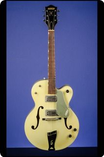 Celebrating Seventy-Five Years Of The Company's Founding.    1959 Gretsch 6118 Double Anniversary Model.    This original Two-Tone Smoke Green 6118 Double