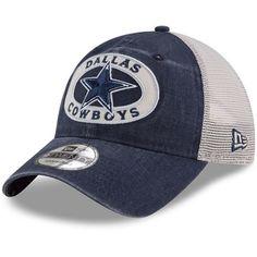 4dc313ca35182 Dallas Cowboys New Era Youth Patched Pride Trucker 9TWENTY Snapback Adjustable  Hat – Navy